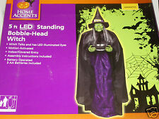 Animated Talking Bobble-Head Wicked Witch Life Size 5' Prop Halloween-AWESOME!!