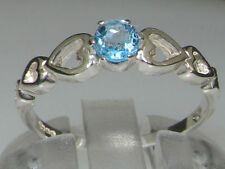 Unbranded Natural Topaz Solitaire Fine Rings