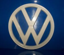 Front Badge in white VW Type 2, 1973 to 1979