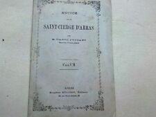 NOTICE SUR LE SAINT CIERGE D ARRAS  - 1860