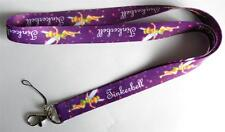 MOBILE PHONE/IDENTITY CARD LANYARD NECK STRAP TINKERBELL PURPLE