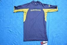 Quiksilver Performer SS Rash Vest - Dark Grey Size XXL Gr8 Rashie New-