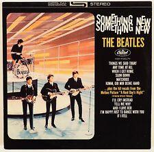 THE BEATLES Something New LP REISSUE STEREO CAPITOL VINYL PURPLE LABEL ST-2108