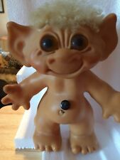 Vintage Thomas Dam Troll Doll From The 1960S