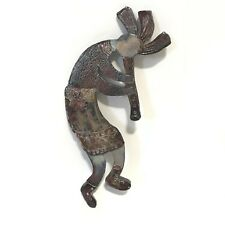 Kokopelli Wall Figure Art Decoration Copper Flute Humpbacked Right Small Hanging
