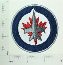 NHL Winnipeg Jets Logo embroidered Iron on Patch High quality Shirt Bag
