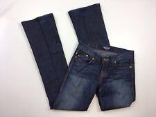 Rock & Republic Kasandra Women Size 25 Dark Wash Embroidered Bootcut Jeans