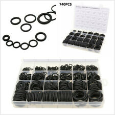 740 Pcs 24 Size Car Air Conditioning O-Ring Gasket Assortment 1.5mm 2.4mm 3.1mm