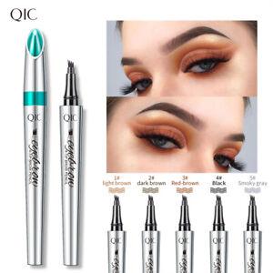 3D Microblading Tattoo Eyebrow Ink Pencil Long Lasting Eye Brow Fork Makeup Pen