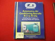 MACS AUTOMOTIVE AIR CONDITIONING RETROFIT R12 TO R134A TECHNICIANS REFERENCE