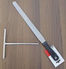 Profi Set Crepewender 47cm + Teigverteiler Alu Crepe Wender Teig Verteiler