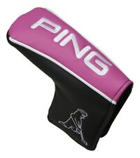 PING Japan Golf PT Putter Cover Headcover HC-U192 Magnet Pink Black