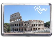 Rome Famous City Fridge Magnet Collectable Design Italy Colosseum Italian