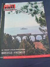 vie du rail 1963 923 CARNOULES CUERS PIERREFEU SAINT CYR LES LECQUES LA CADIèRE