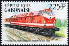DR (German Railways) Class 119 Type 219 No.193 Diesel-Hydraulic Train Stamp