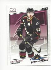 2017-18 Cleveland Monsters (AHL) Brett Gallant