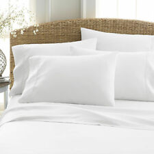 QUEEN 6pc SHEET SET 2100 COUNT BAMBOO SERIES : HOTEL LUXURY SOFT DEEP POCKET