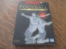 coffret 5 dvd la grande histoire du football 1930-2002