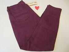 Lucky Brand W's 0/25 ankle Charlie Skinny 7WD1951 Jeans Burgundy/Purple  $99.NWT