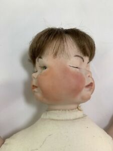 Rproduction  bisque Doll