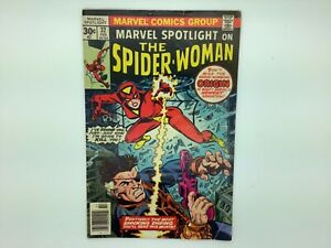 Marvel Spotlight on The Spider-Woman #32 1st Apperance Comic Book