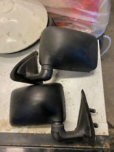Vw Polo Mk2 Coupe / Breadvan Wing Mirrors Manual Adjustment Pair Very Good Cond