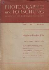 Zeiss Ikon Broschüre - Photographie und Forschung