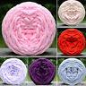 Soft DIY Colors Yarn Super Soft Bulky Arm Knitting Thick Roving Crocheting SLR