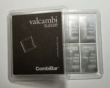 Valcambi Suisse Combibar .999 Silver 10 x 10 gram Bars 100 g Total