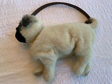 Pug Purse -  Cute Fuzzy Puppy Handbag For Dog Lovers! Great Gift!!