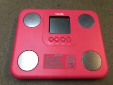Tanita BC-730 Innerscan Body Composition Monitor Fat Mass Weighing Scales Pink