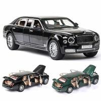 Bentley Mulsanne Limousine 1:24 Scale Model Car Diecast Vehicle Collection Light