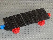 LEGO Train Base 6 x 16 Type I with Wheels 736c01 / 725 182 164 131 726 183 128..
