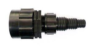 """IBC Adapter (H/D) to STEPPED Hose Tail. 3/4"""", 1"""", 1.1/4"""". Tank Bio Diesel Fuel"""