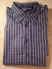 GANT Checks Dress Purple Mauve Black Shirt Size 2XL XXL