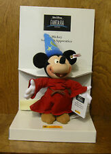 STEIFF #651519 MICKEY SORCERER'S APPRENTICE, From Retail Store, Mint/Box/tags