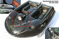POWERFUL QUAD CREE LED RC LIGHT for WAVERUNNER BAIT BOAT Mk1,2,3 . Carp Fishing