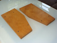 NEW CUSTOM Stained Wood Side Panels Reel Studer Technics Otari