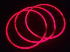 "500 22"" SUPERIOR Pink Glow Necklaces Bulk Wholesale with FREE 300 Glow Bracelets"