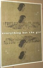 Everything But The Girl MEGA-RARE LIVE 1996 CONCERT GIG POSTER Big 22inch MINT