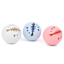 New listing Cat Toy Ball Catnip Bell Ball Flash Light Balls Pet Supplies 3Pcs/Set