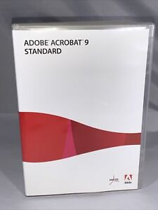 Adobe Acrobat 9 Standard for Windows Full Retail Version with Serial Number Key