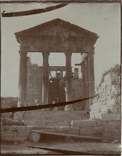 Tunisie Capitole Ruine romaine de Sbeitla Vintage Vintage citrate