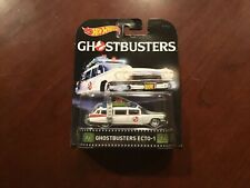 HOT WHEELS RETRO ENTERTAINMENT GHOSTBUSTERS ECTO-1 ***FREE SHIPPING***