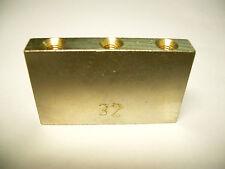 Schaller Tremolo Block 32 mm vernickelt
