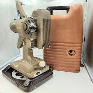 Vintage Revere Model 48 16mm Film Projector w/Case No Cord Untested Display Only
