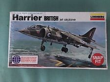 Lindberg 1/72 Harrier British Jet Airplane Kit Sealed New Old Stock spideegf