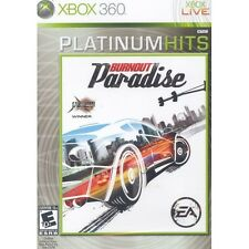 XBOX 360 RACING GAME BURNOUT PARADISE BRAND NEW SEAL!