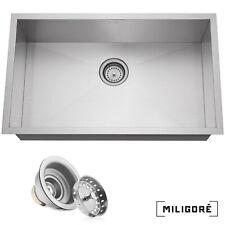Single Bowl Kitchen Sink For Sale Ebay