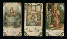 lotto santini-holy cards lot-lot images pieuses-konvolut heiligenbildichen 2425